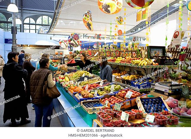 France, Nord, Lille, Wazemmes Market