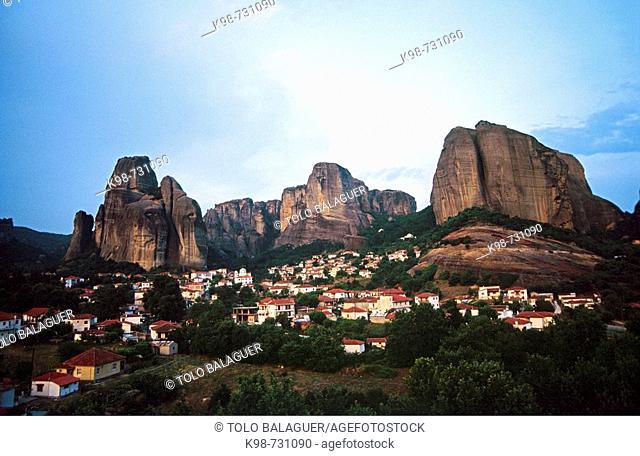 Kastraki, Meteora. Thessaly, Greece