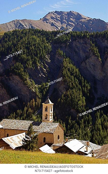 Saint-Véran, Queyras Regional Natural Park. Hautes-Alpes, France
