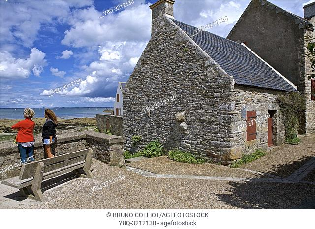 Customs shelter at Piriac sur Mer, Loire Atlantique, Brittany, France