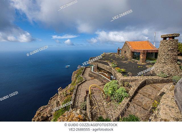 Spain, Canary Islands, El Hierro. Mirador de la Peña