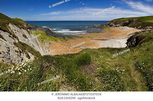 El Sable beach, Suances, Cantabria, Spain