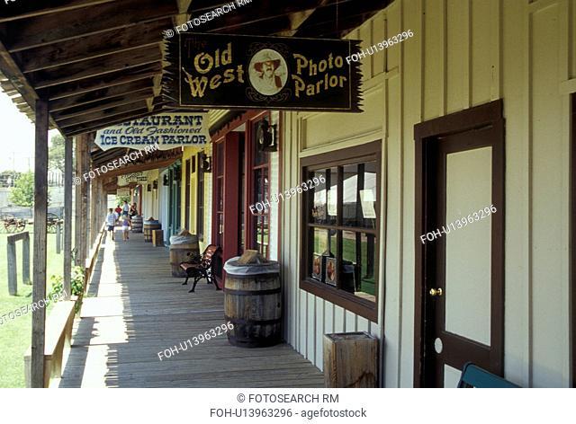 KS, Kansas, Dodge City, Boot Hill Museum, INC. on Front Street