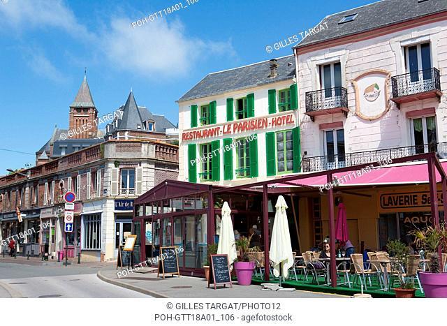 France, Région Hauts de France, Picardie, Somme, Mers les Bains Photo Gilles Targat