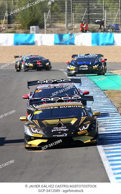 October, 25th, friday race USA ASIA Super Trofeo World Final Lamborghini Jerez 2019, third HUBBELL William (USA) 1'56.239 CURRAN Eric (USA) USA PRO AM