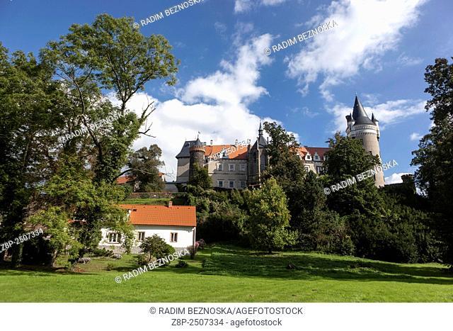 Zleby Castle in East Bohemia, Czech Republic