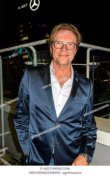 Celebrities at the 10 year anniversary party of Pan Am Lounge in Charlottenburg. Featuring: Wolfgang Lippert Where: Berlin