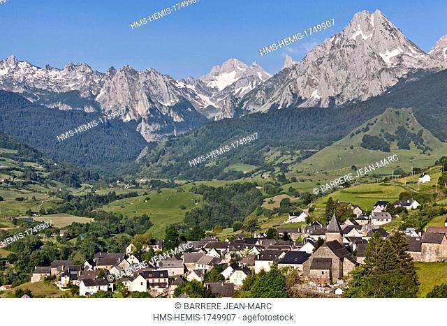 France, Pyrenees Atlantiques, Aspe Valley, Lescun