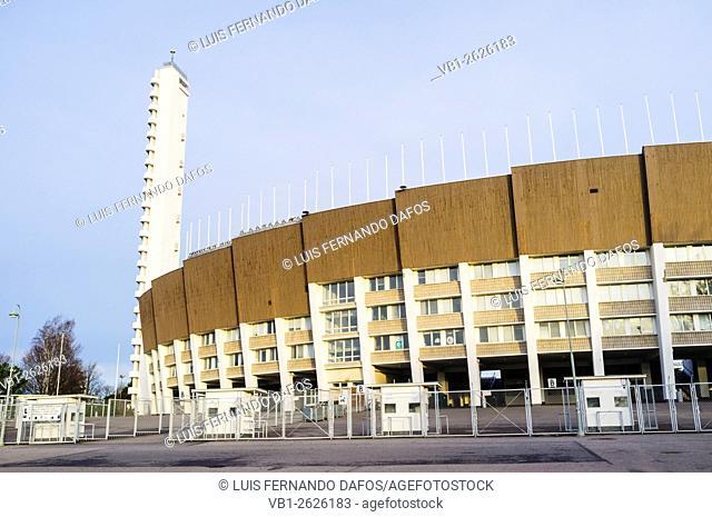 Olympic Stadium (1938-50), by Yrjö Lindegren and Toivo Jäntti. Helsinki, Finland