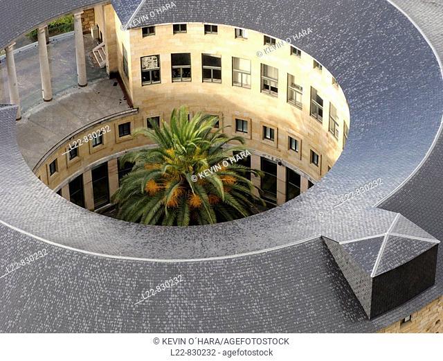 Laboral Ciudad de la Cultura, former University complex, Gijon. Asturias, Spain