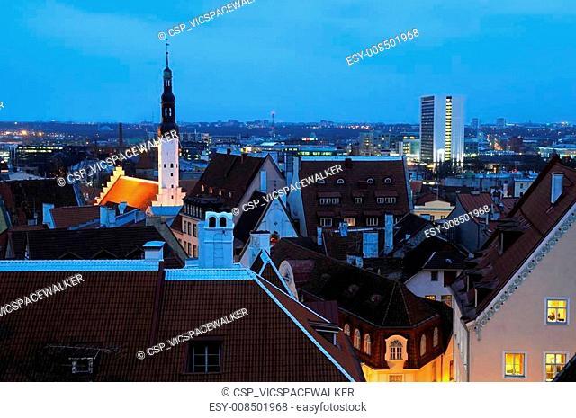 Late Winter Afternoon in Tallinn