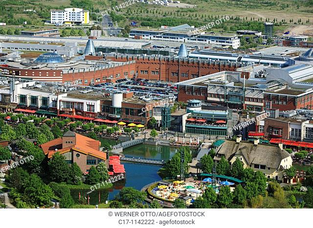 Germany, Oberhausen, Ruhr area, Lower Rhine, North Rhine-Westphalia, Germany, Oberhausen-Neue Mitte, Ruhr 2010, Cultural Capital 2010