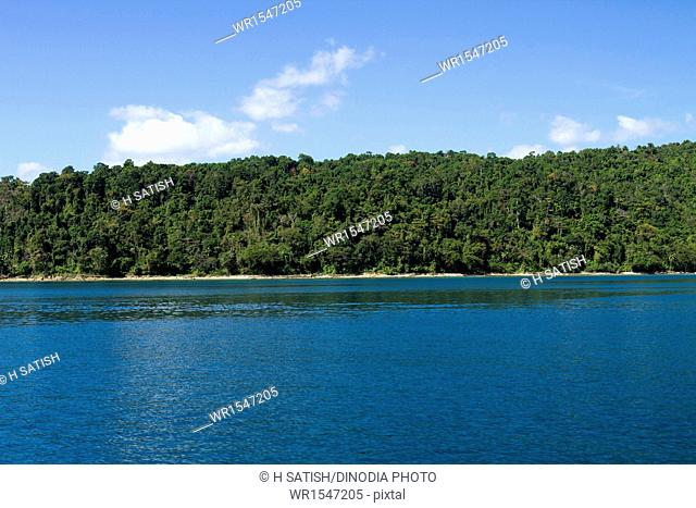 North bay Island at Andaman India Asia