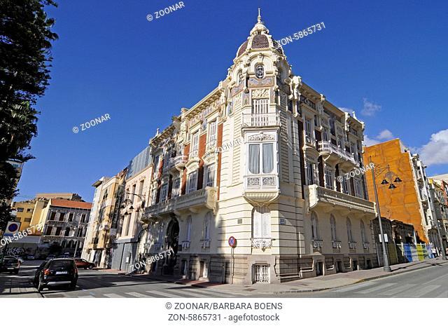 Muram, modern art museum, Cartagena, Murcia Region, Spain, Europe, Muram, moderne Kunst, Museum, Cartagena, Region Murcia, Spanien, Europa