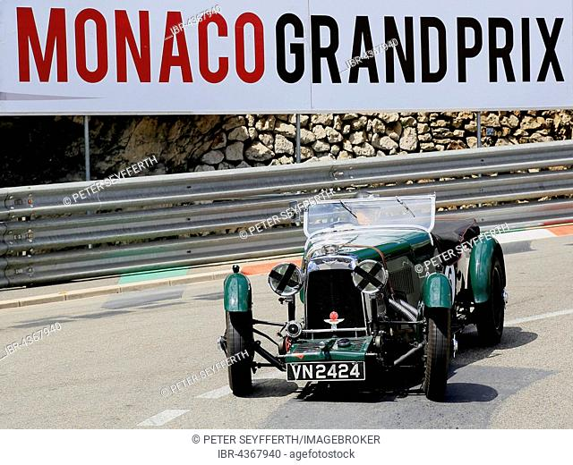 Aston Martin LM 1930, 10th Monaco Grand Prix Historique 2016, Monte Carlo, Monaco