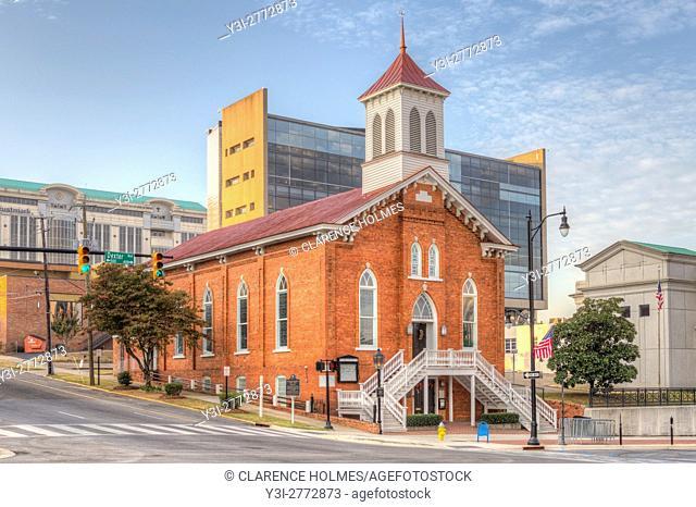 The Dexter Avenue King Memorial Baptist Church in Montgomery, Alabama
