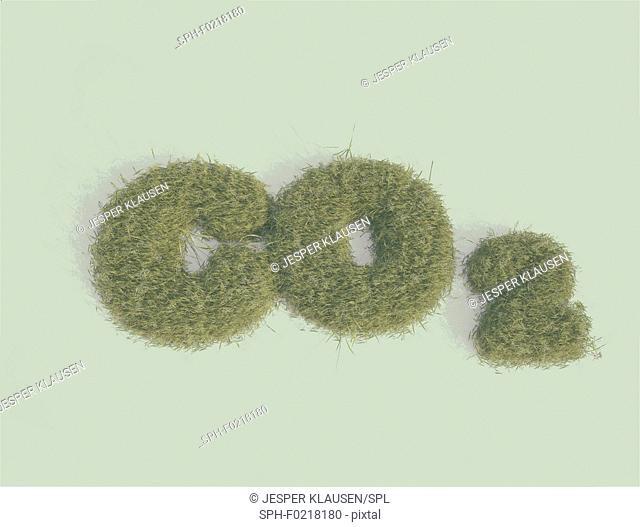 CO2, illustration