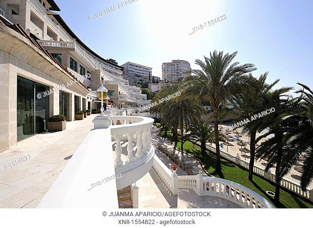 Nixe Palace Hotel Terrace in Palma de Mallorca