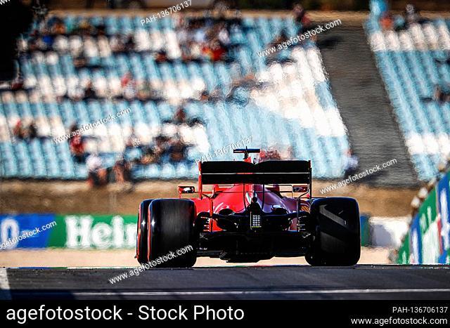 23.10.2020, Autódromo Internacional do Algarve, Portimao, FORMULA 1 HEINEKEN PORTUGUESE GRAND PRIX 2020, in the picture Sebastian Vettel (GER # 5)