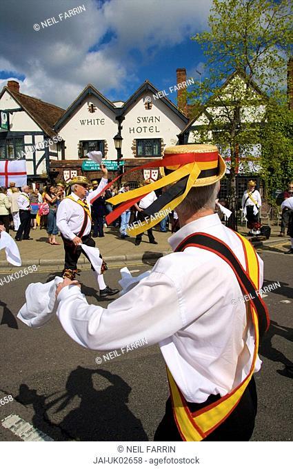 Morris Dancing, Stratford upon Avon, England, UK