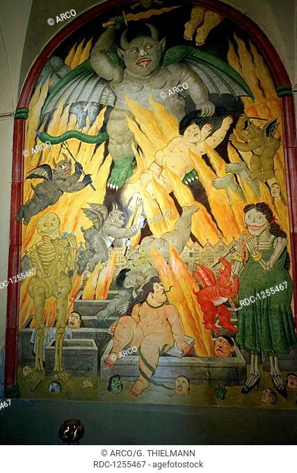 Sant'Antonio Abate, Province of Lucca, Versilia, Tuscany, Italy, San Biagio, Church Sant'Antonio Abate, Chiesa di Sant'Antonio Abate