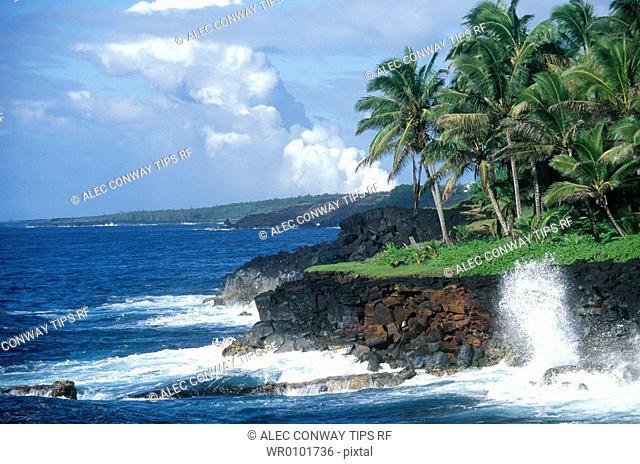 USA, Hawaii, Big Island, Puna coast