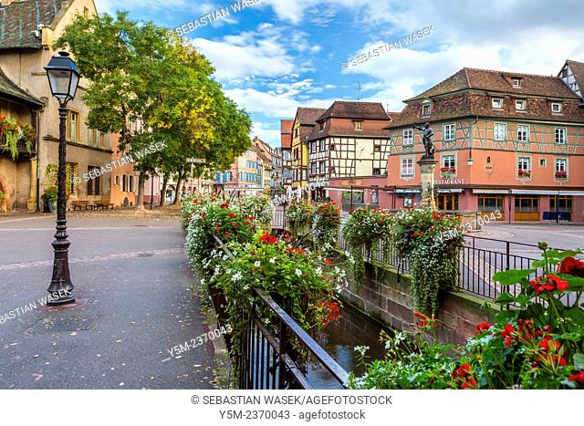 Old town in Colmar, Alsace, France, Europe