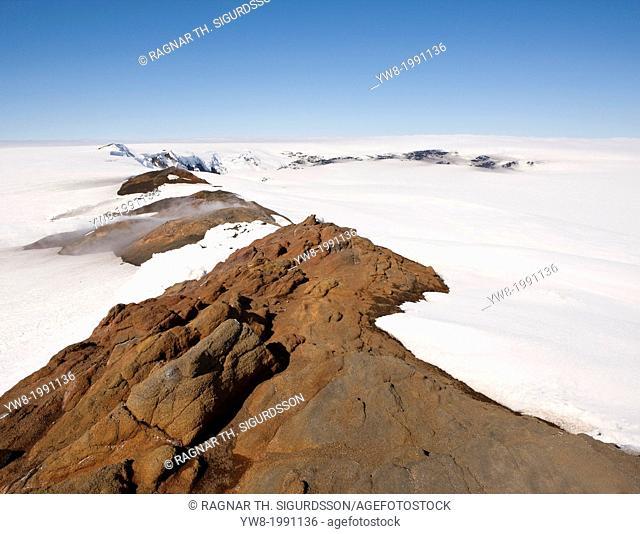 Grimsvotn Volcano, Vatnajokull, Iceland
