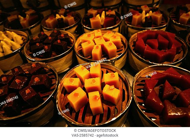 Beijing, China - The view of the delicious traditional Beijing snack food