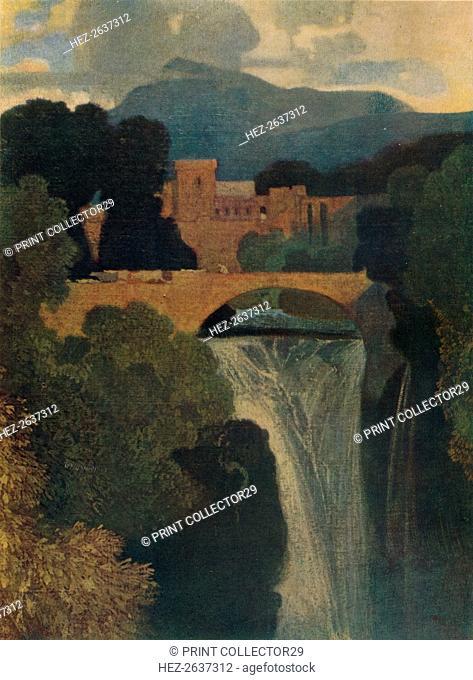 'The Waterfall', c1807, (1923). Artist: John Sell Cotman