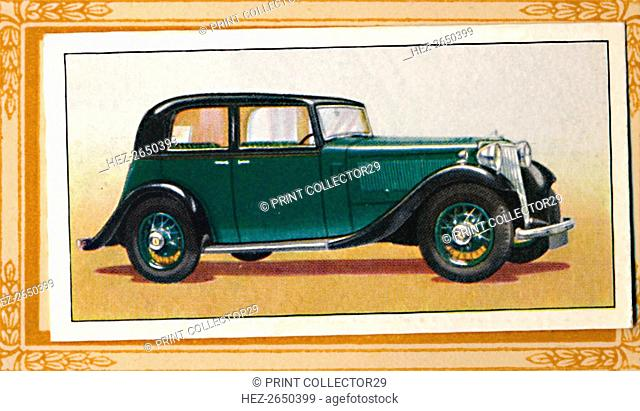 'Armstrong-Siddeley 17 Saloon', c1936. Artist: Unknown