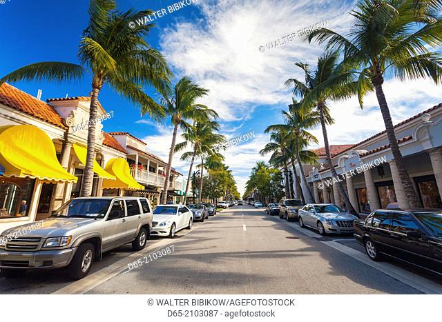 USA, Florida, Palm Beach, Worth Avenue
