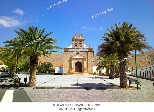 Hermitage of the Virgen de la Pena. Vega de Rio Palma. Fuerteventura. Canary Islands. Spain