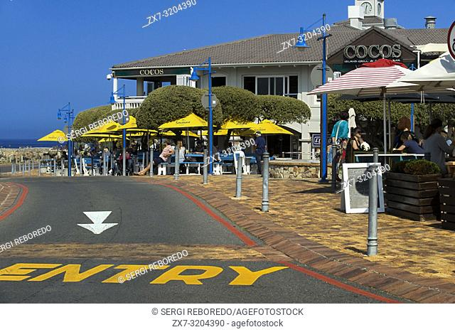 Hermanus town center, Western Cape, South Africa