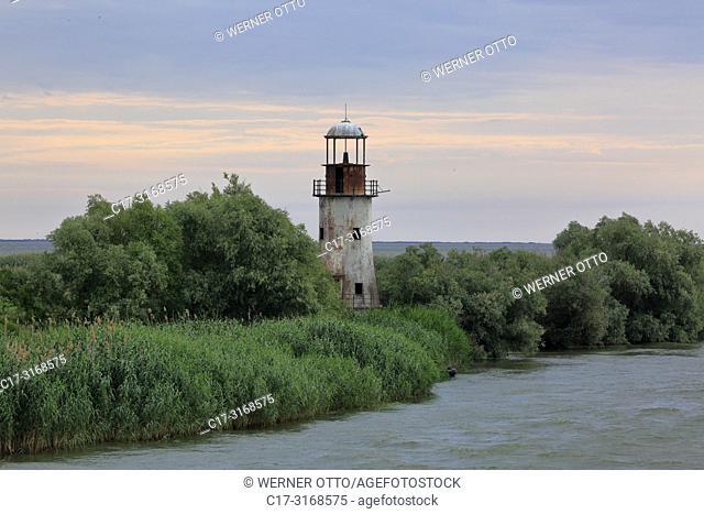 Sulina, Romania, Tulcea County, Dobrudja, Dobruja, Danube Delta, Biosphere Reserve Danube Delta, river delta, estuary, Danube river mouth to the Black Sea
