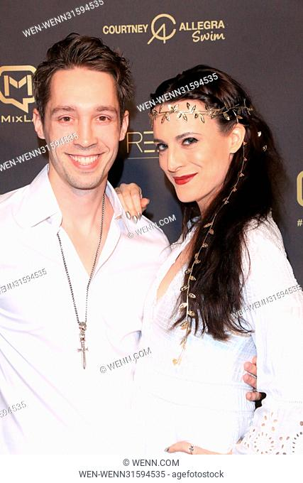 Memorial Day Weekend White Party - Arrivals Featuring: Jed Williams, Calico Cooper Where: Los Angeles, California, United States When: 26 May 2017 Credit: WENN