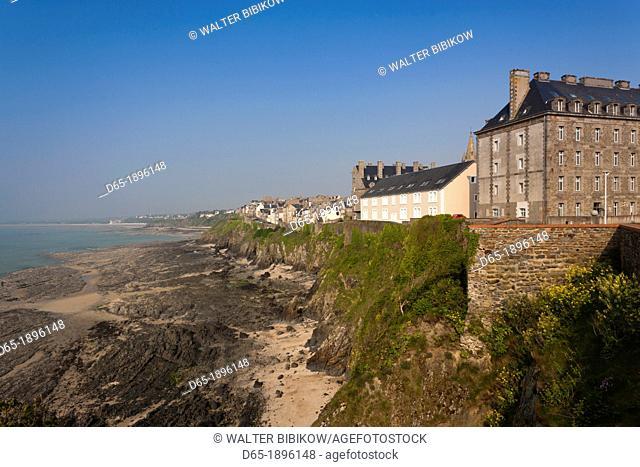 France, Normandy Region, Manche Department, Granville, Haut Ville, Upper Town