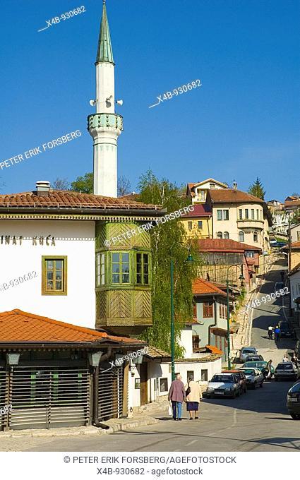 Restaurant Inat Kuca in central Sarajevo Bosnia Herzegovina Europe