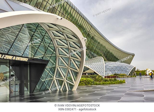 Heydar Aliyev International airport, Baku, Azerbaijan