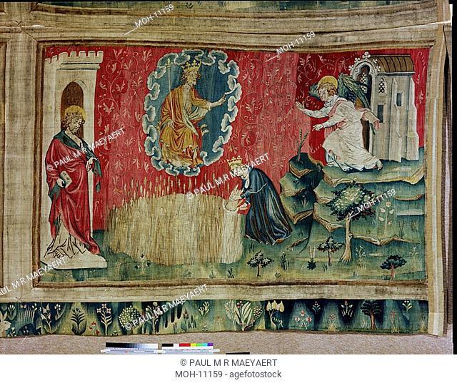 La Tenture de l'Apocalypse d'Angers, Le moisson des élus 1,56 x 2,64m, die Ernte