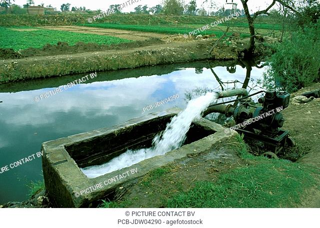 Nile valley irrigation