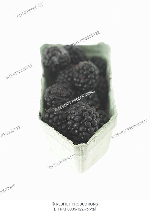 Container of Blackberries