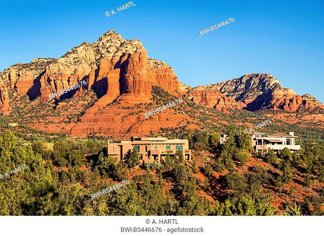 red rocks west of Sedona, USA, Arizona, Mogollon Rim, Sedona
