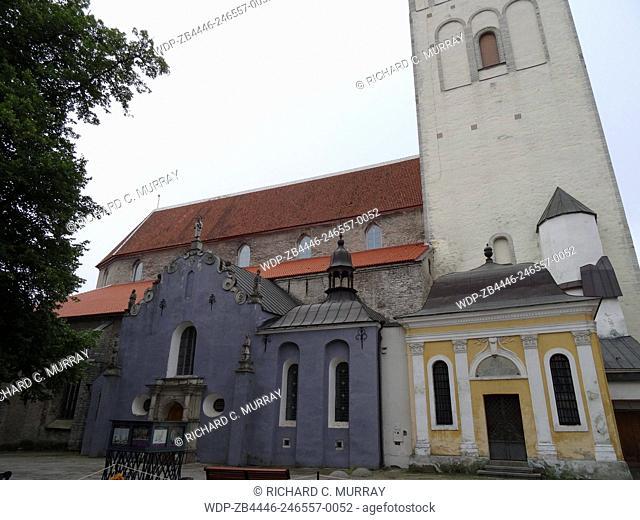 Niguliste Museum Old Medieval Town-Tallinn, Estonia