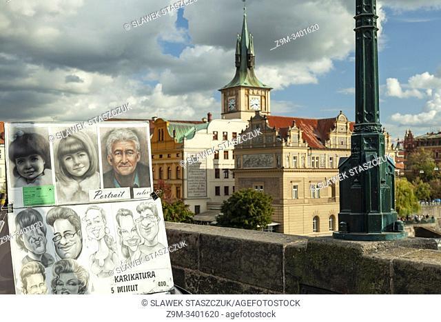 Charles Bridge in Prague, Czechia