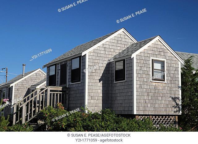 Cottages near the beach, East Sandwich, Cape Cod, Massachusetts