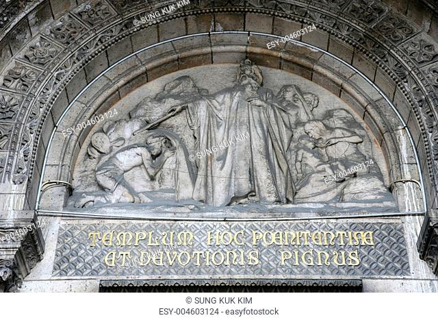 Relief of Basilica of the Sacre C©«ur