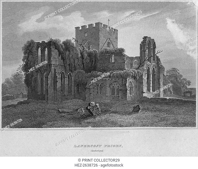 'Lanercost Priory, Cumberland', 1814. Artist: John Greig