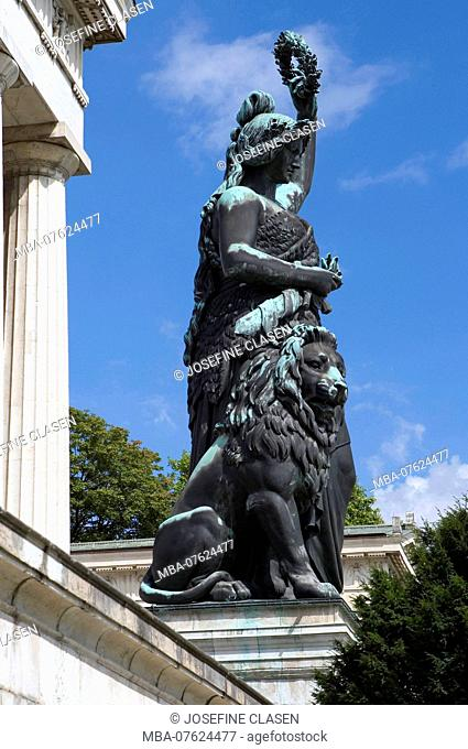 The Bavaria on the Theresienwiese in Munich