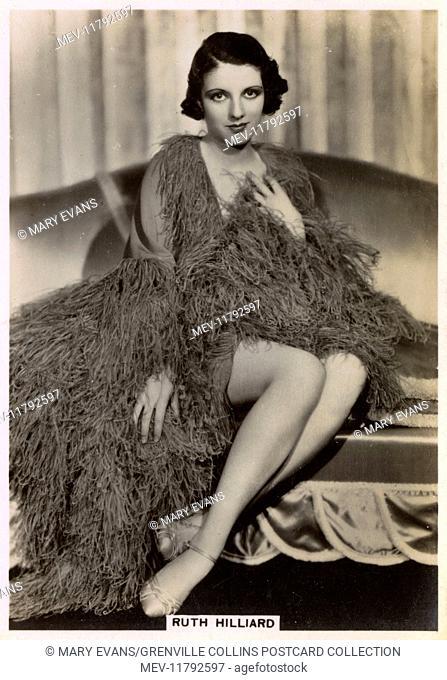 Ruth Hilliard (1916–1997) - American film actress